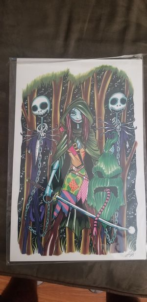 Nightmare before christmas posters for Sale in Berwyn, IL