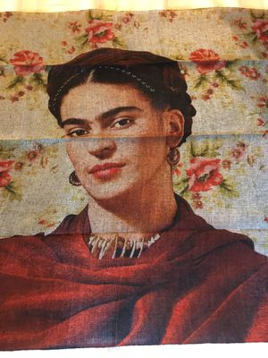 Frida Kahlo Silky Rayon Like Shawl/Wrap - Rebozo de Frida Kahlo for Sale in Chicago, IL