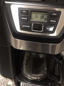 NEW! Black And Decker Coffee Maker Mill And Brew for Sale in Maple Valley,  WA