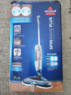 Bissell Spinwave Plus Hardwood Floor Mop - New O/B for Sale in Hilliard, OH