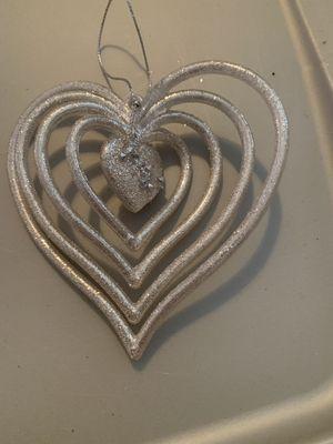 Heart ornament for Sale in Mechanicsville, VA