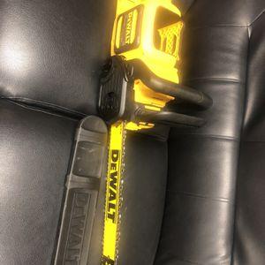 Dewalt 60v Chainsaw for Sale in Rockville, MD