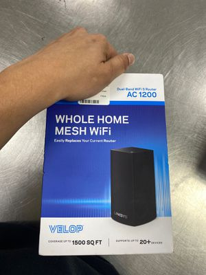 Velop whole home mesh WiFi dual band router for Sale in Orlando, FL
