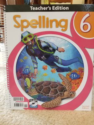 HOMESCHOOL CURRICULUM BJU Press, Spelling gr 6, 2nd edition for Sale in West York, PA
