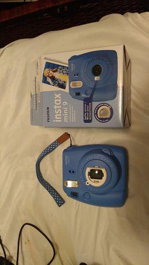 Fugi film instax mini 9 (blue) for Sale in Eugene, OR