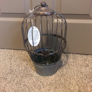 Succulent Plant Holder Bird Cage for Sale in Meridian, ID