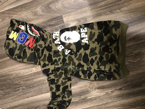 Green Camo Bape Hoodie for Sale in Tampa, FL