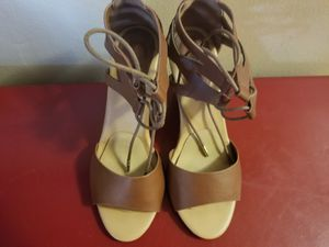 Bamboo heels size 8 for Sale in Chicago, IL