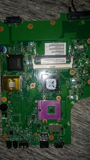 Laptop motherboard with some components for Sale in Poway, CA