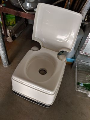 Theftord porta potty. Mini toilet for Sale in Oregon City, OR