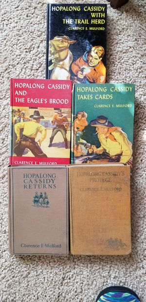 Hopalong Cassidy's Books for Sale in Lathrop, CA