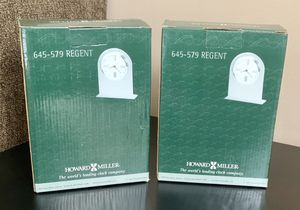 Howard Miller Tabletop Alarm Clock! 2 Available, Both Brand New! for Sale in Hanover Park, IL