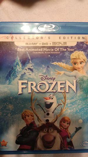 Disney Blu-Ray of Frozen plus dvd for Sale in Miramar, FL