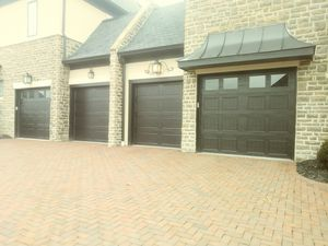 9x8 - 8x8 Clopay Carriage House deep Groove garage doors for Sale in London, OH