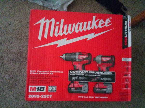 Milwaukee two drill set