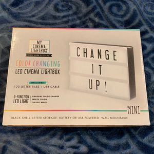 Brand New LED Cinema Light Box for Sale in Seattle, WA