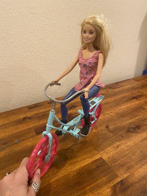 Bike Riding Barbie for Sale in Bradenton, FL