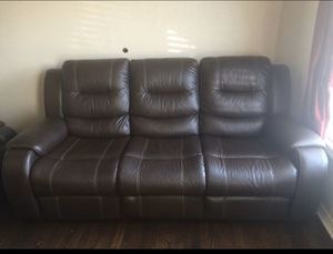 Couches with reclining seats for Sale in Fort Worth, TX