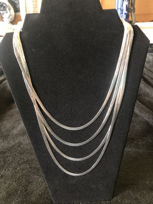 Silver necklace for Sale in Lexington, SC