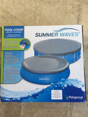 Pool cover 13-14ft for Sale in Chamblee, GA