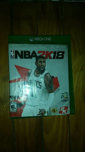 NBA 2k18 for XBOX ONE for Sale in Raleigh, NC