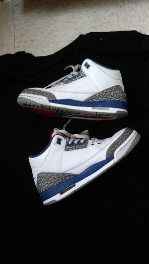 Air jordan 3s true blue size 7 for Sale in Silver Spring, MD