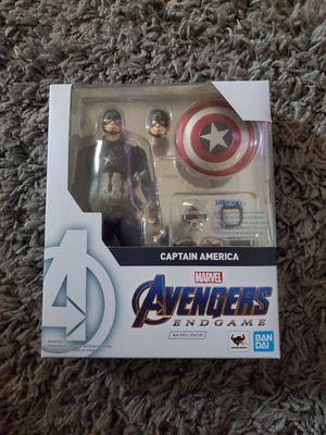 Sh Figuarts Avengers Endgame Captain America for Sale in Long Beach, CA