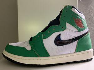 "Brand new Air Jordan 1 Women's ""Lucky Green"" size 8.5W for Sale in Herndon, VA"