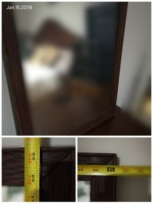 Wooden Wall Mirror Solid for Sale in Richmond, VA