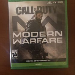 Call of Duty Modern Warfare Xbox One for Sale in Visalia,  CA