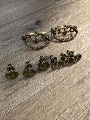 Beautiful antique bronze cabinet/drawer pulls for Sale in Quincy, MA
