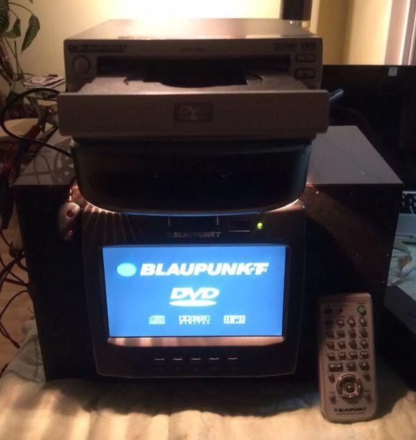 """Blaupunkt IVMR-7001 7"""" Overhead Vehicle Monitor w/ Blaupunkt DVD-ME1 DVD Player"""