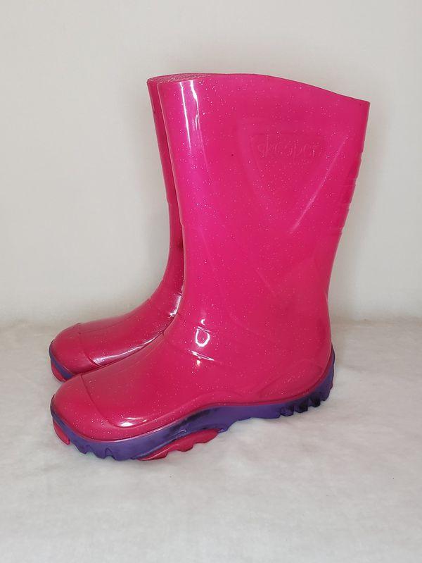Girls Rain Boots Size 13