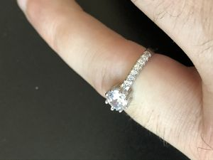 10k gold filled with silver size 7 ring for Sale in Arlington, NY
