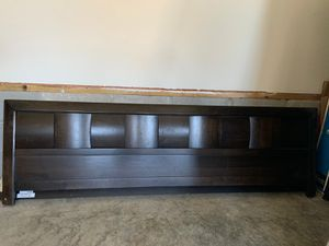 King bed frame with mattress and box spring for Sale in Franklin, TN