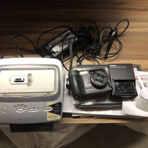 Kodak Digital Camera and Photo Printer (includes paper, cables, install CD, and charger) for Sale in Glendale, CA
