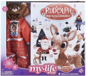 """My Life As 18"""" Doll Rudolph Reindeer Outfit Advent Calendar Holiday 32 Piece Set for Sale in Yukon, OK"""