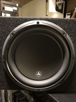 Like new!! 10in JL Audio W3 Subwoofer 🔊 for Sale in Anaheim, CA