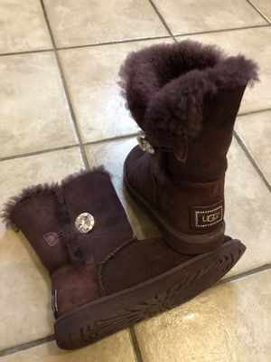 UGG Bailey Button Bling Boots for Sale in Chicago, IL
