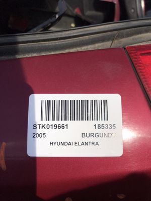 2005 Hyundai Elantra Part Out for Sale in Stockton, CA