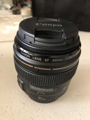 Canon Lens EF 85mm for Sale in Downey, CA