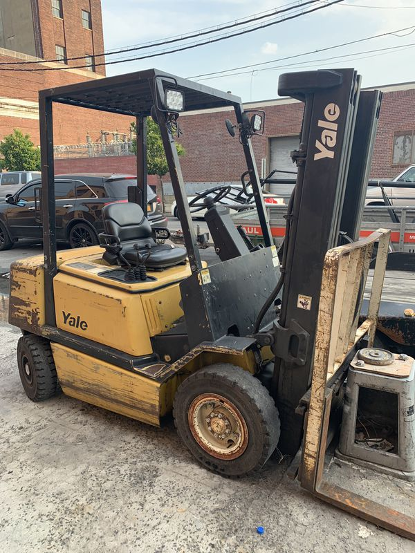 Meant condition forklift two story one