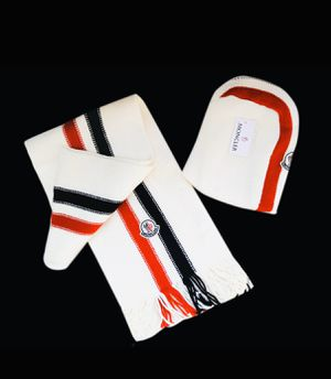 Moncler Beanie and Scarfs Set for Sale in Staten Island, NY