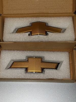 Chevy Bowtie Emblems front and back for a Camaro for Sale in Horn Lake, MS