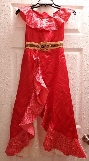 Disney Elena Of Avalor Princess Girl Costume Dress Size M 7-8 for Sale in Homestead, FL