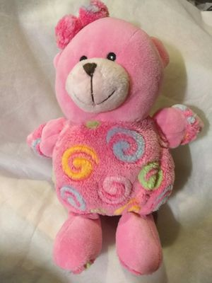 NEW Plush Teddy Bear with rattle inside for Sale in Los Angeles, CA