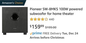 Pioneer Home Theater Subwoofer for Sale in Mesa, AZ