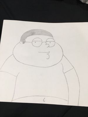 Pencil drawing Cleveland brown jr. for Sale in Clayton, NC