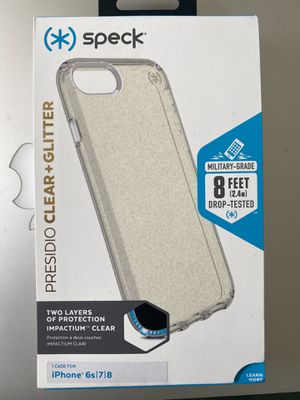 iPhone 6s 7 8 clear phone case for Sale in Arcadia, CA