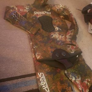 Spearpro Wetsuit Spear Fishing Freediving - 52 Tall Gently Used for Sale in San Diego, CA